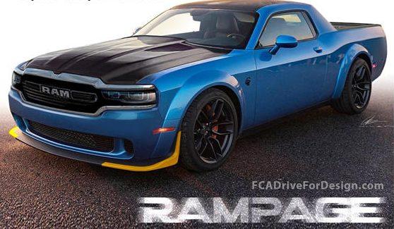 Dodge Challenger Rampage Pickup